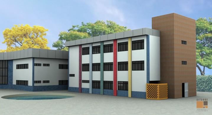 Edifício de apoio